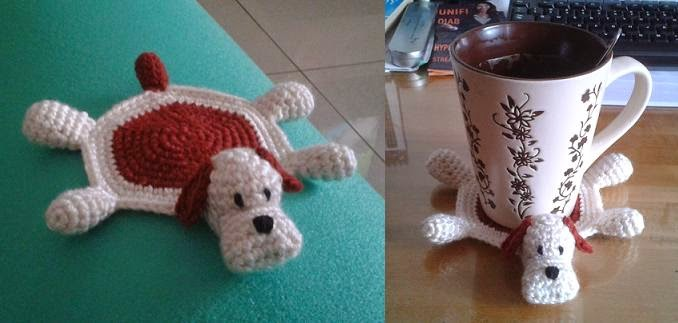 Welcome To Tdccrafts Crochet Dog Coaster