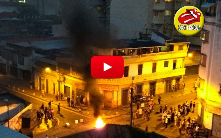 Vecinos de Altagracia se mantienen manifestando por invasión de hoteles de la zona