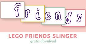 Lego Friends slinger