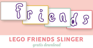 Lego Friends slinger