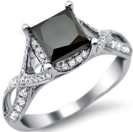 Black diamond engagement rings is one particular of the rarest gemstones