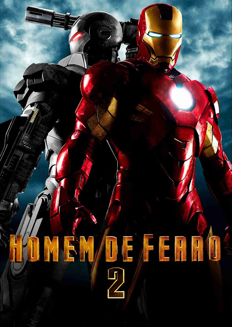 Homem de Ferro 2 com Robert Downey Jr e Gwyneth Paltrow,: eu vi