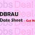 DBRAU Date Sheet 2017 – BA, BSC, BED, B.Com, BBA, BCA 1st/2nd/3rd Sem