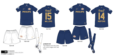 ... released new Nike shirt is also the club s 100th Anniversary away kit  or Jubileumtenue ( 100 jaar jubileum shirt for 2013 2014 in Dutch) at the  club s ... 6f6944d2a