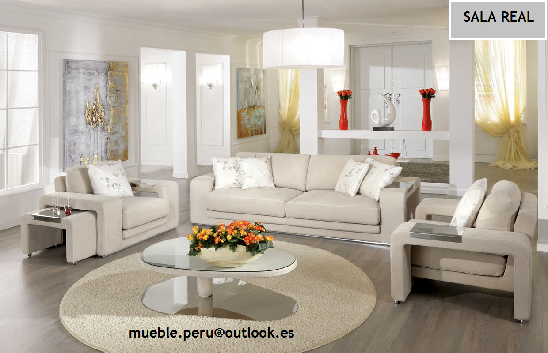 Mueble peru sakuray juego de sala sala real for Muebles de sala en oferta lima peru