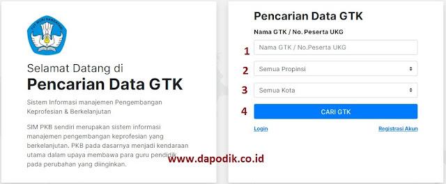 Cara Mendapatkan Nomor UKG/ Prites Di Portal Layanan Program GTK Kemendikbud Terbaru