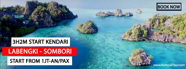 Paket Pulau Sombori Dan Labengki Murah Open Trip Travel Paket Wisata Murah Ke Karimunjawa Bromo Derawan Menjangan Bali Raja Ampat Dieng