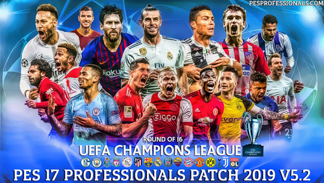 PES 2017 Professionals Patch V5.2