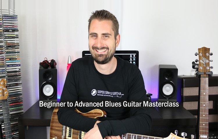 Ultimate Beginner To Advanced Blues Guitar Masterclass
