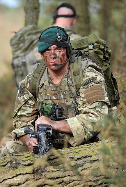 Royal Marine Commandos During Green Ops Exercise | Global