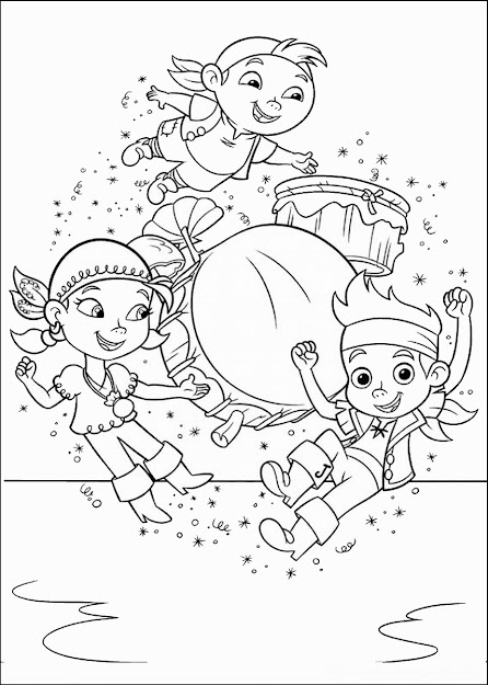 Jake And The Neverland Pirates Coloring Books Archives Free Coloring Pages  Jack And The Neverland Pirates