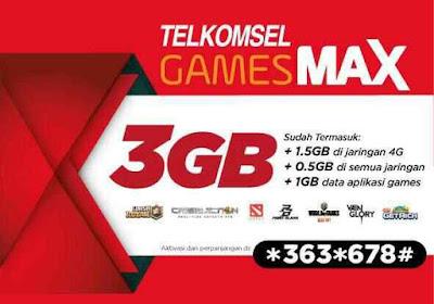Cara Mengubah Kuota Gamesmax Telkomsel Menjadi Kuota Flash 24 Jam