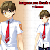 Imagen chico anime 0037 (Sprite - character - male)