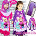 Model Baju Gamis Anak Frozen, Trend Busana Muslim Favorit Anak Perempuan
