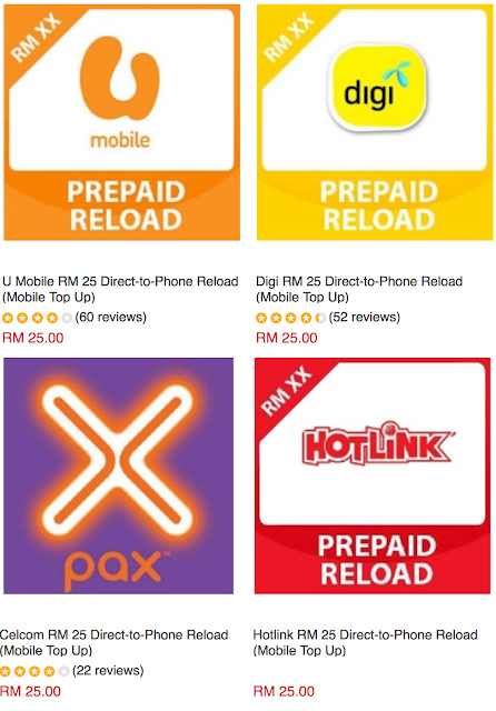 Direct-to-Phone Reload Mobile Top Up