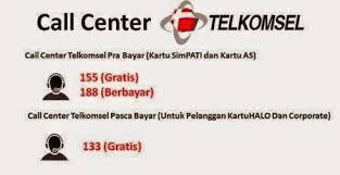 Call Center Telkomsel Bebas Pulsa Dari Mana Saja