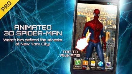 Amazing Spider-Man 2 Live Wallpaper Apk