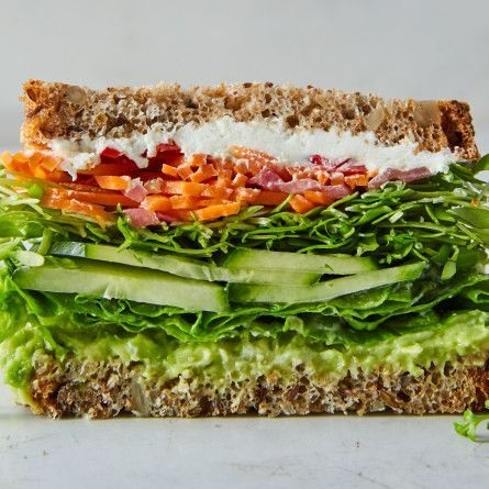 California Veggie Sandwich