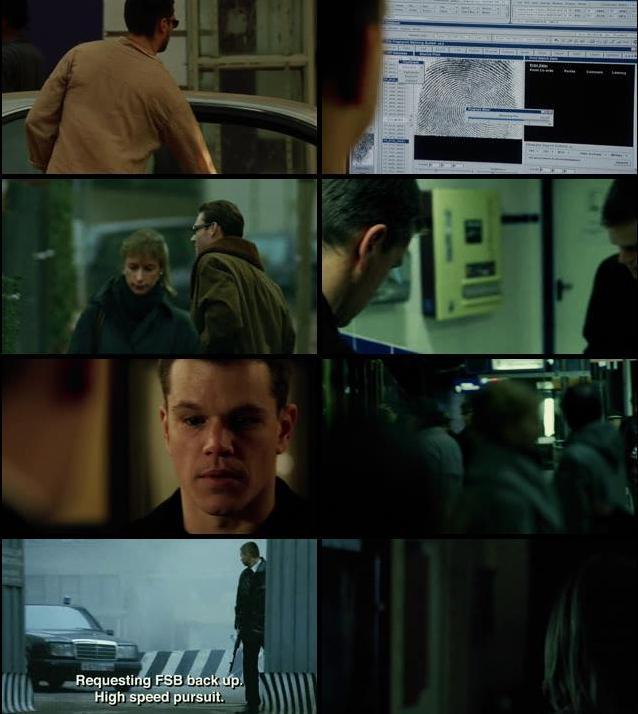 The Bourne Supremacy 2004 Dual Audio Hindi 480p BRRip