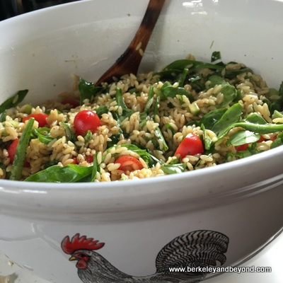SuperSimple Orzo-Spinach Summer Salad