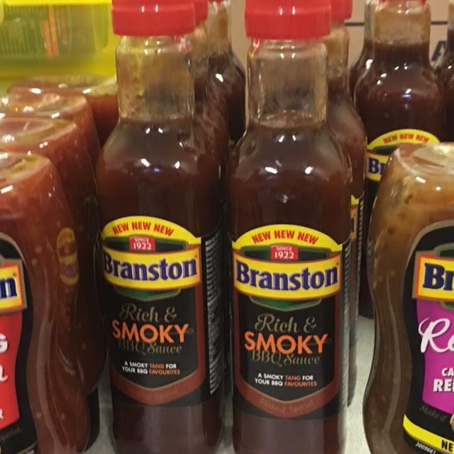 Branson BBQ Sauce bottles