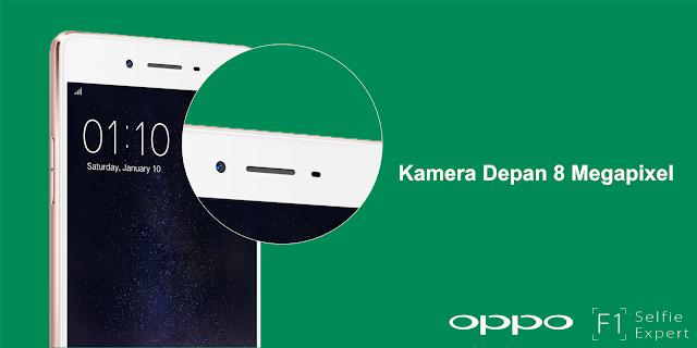 OPPO F1, Smartphone Selfie Pertama dengan Hasil Foto yang Sempurna