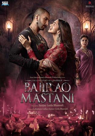 Poster of Bajirao Mastani Full Hindi Movie Download Hd DVDRip 720p