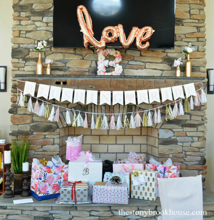DIY Blushing Bridal Shower