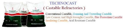 Technocast Castable Refractories - Semen Cor Tahan Api Suhu Tinggi