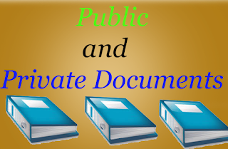 Public and Private Documents in QSO 1984