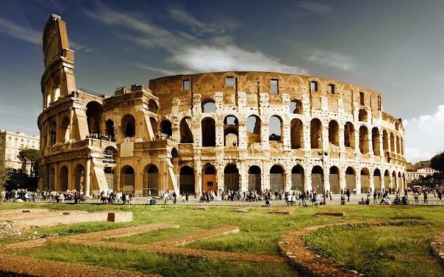 Primavera e outono em Roma