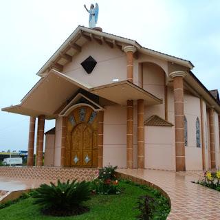 Igreja São Gabriel, em Ametista do Sul