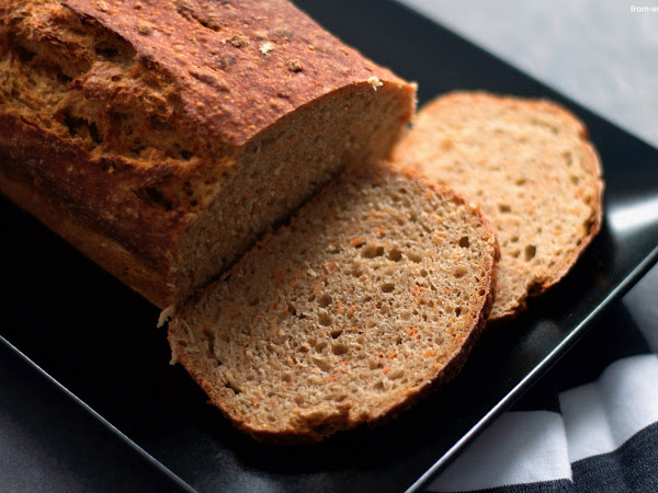 EasyPeasy - Karotten-Dinkel No Knead Brot