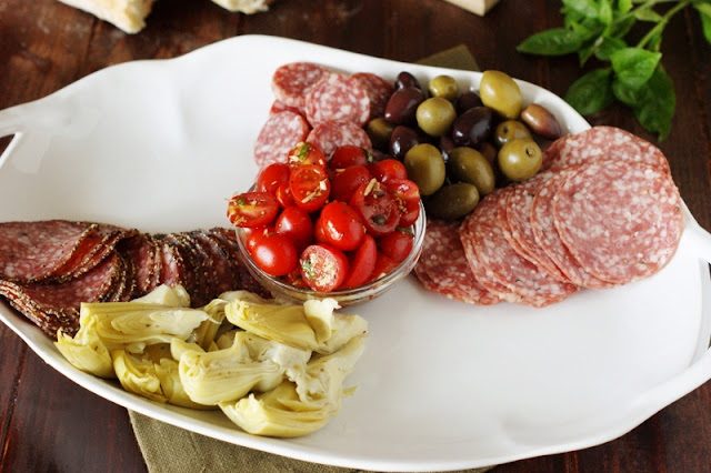 Assembling a Party-Perfect Antipasto Platter