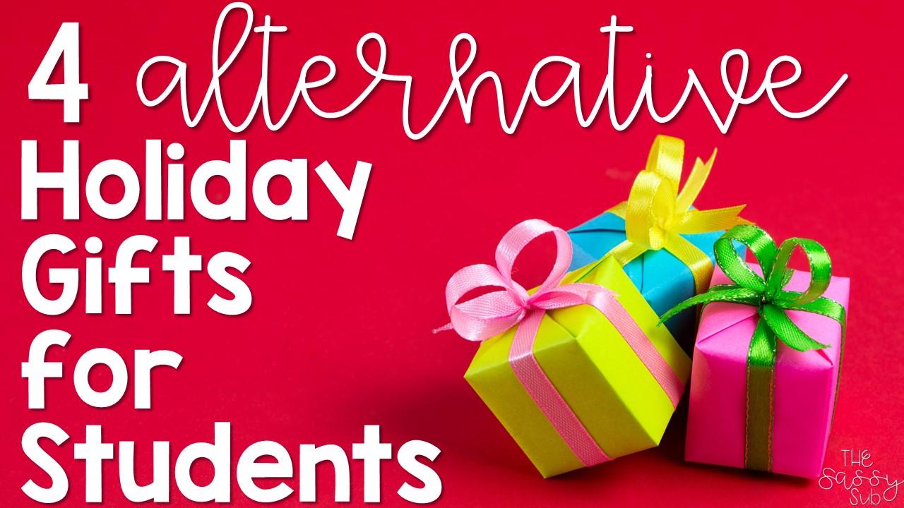 4 Student Gift Idea Alternatives - The Sassy Apple