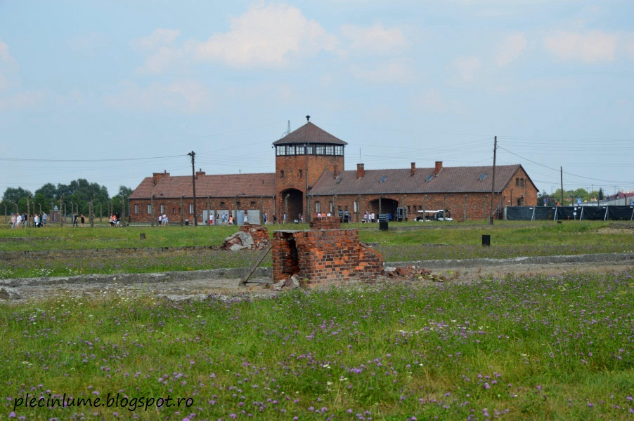 Intrare la Auschwitz-Birkenau