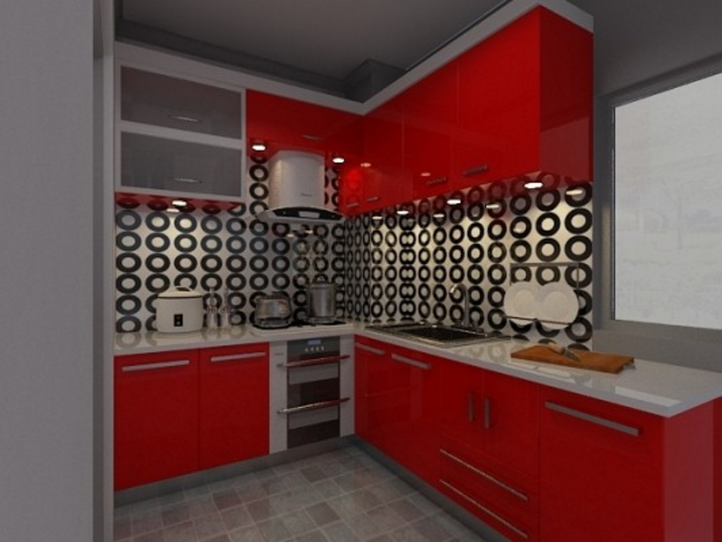 kitchen set anti rayap 2