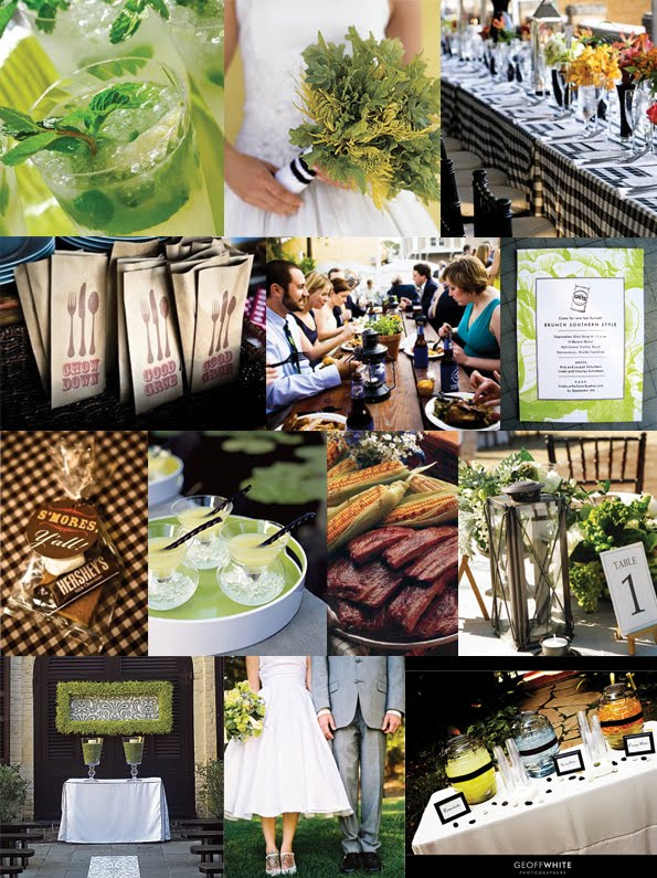 Your Wedding Support: GET THE LOOK - BBQ Wedding
