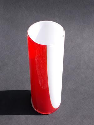Murano - vaso di Carlo Moretti - arte vetraria - annunci