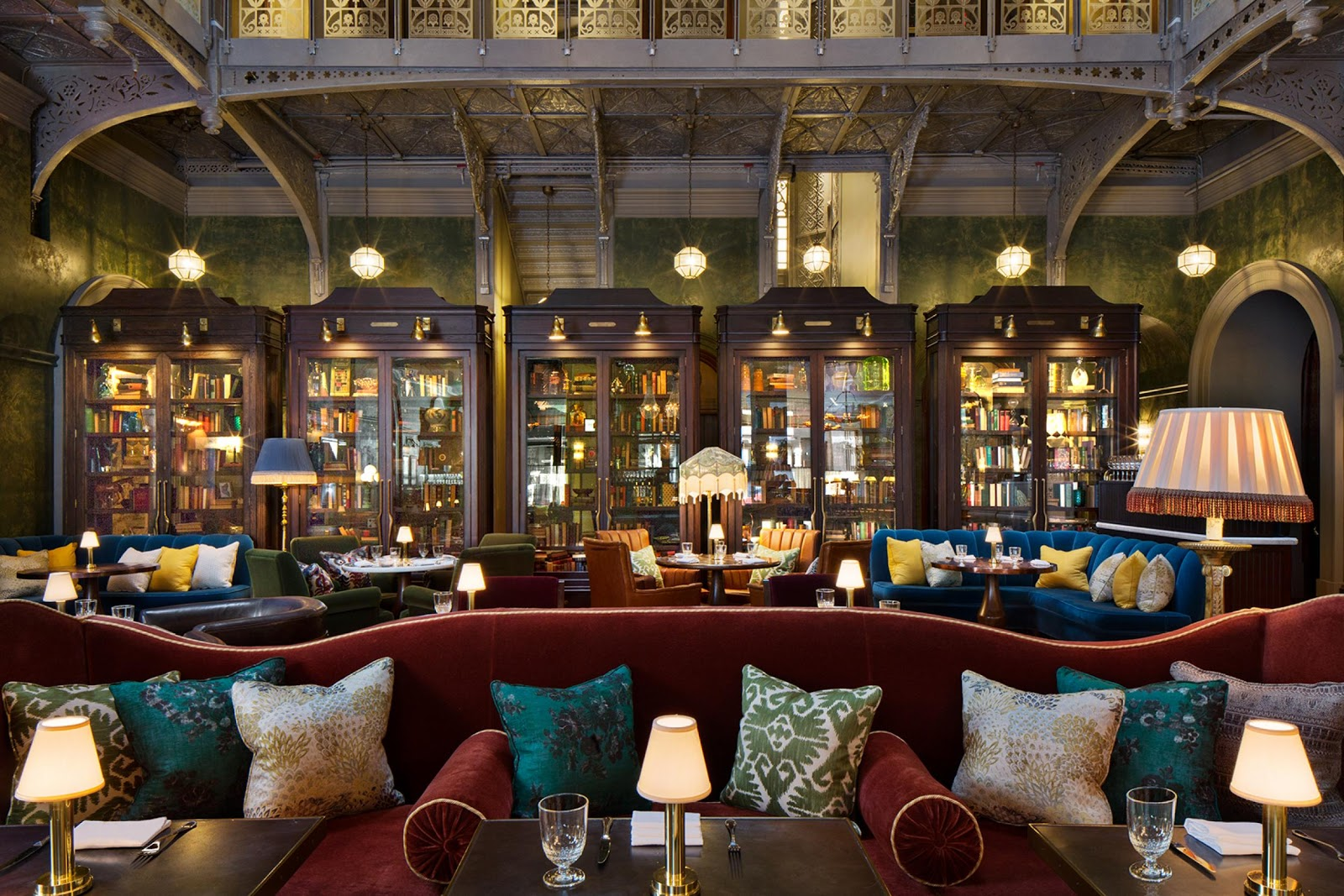 Ormos Sofas Let 39s Stay The Beekman Hotel New York City