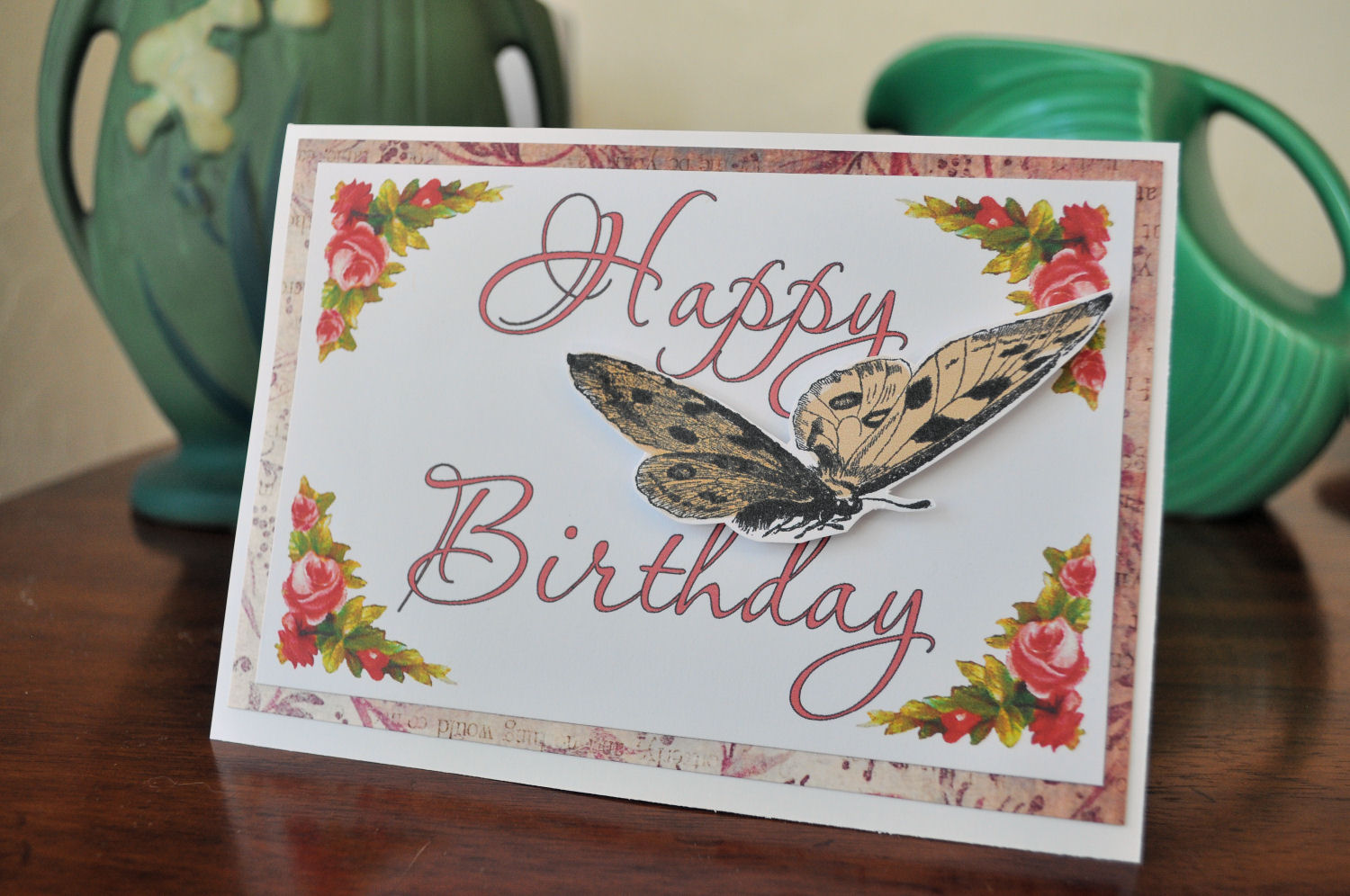 The Graphics Monarch Free Handmade Butterfly Birthday Card Project Idea