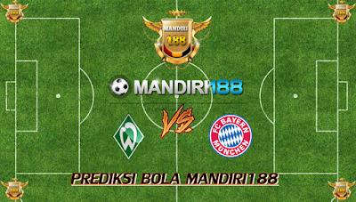 AGEN BOLA - Prediksi Werder Bremen vs Bayern Munchen 26 Agustus 2017