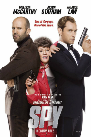 Spy [2015] [DVD5 + DVD9] [NTSC] [Latino]