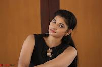 Khanishka new telugu actress in Black Dress Spicy Pics 22.JPG