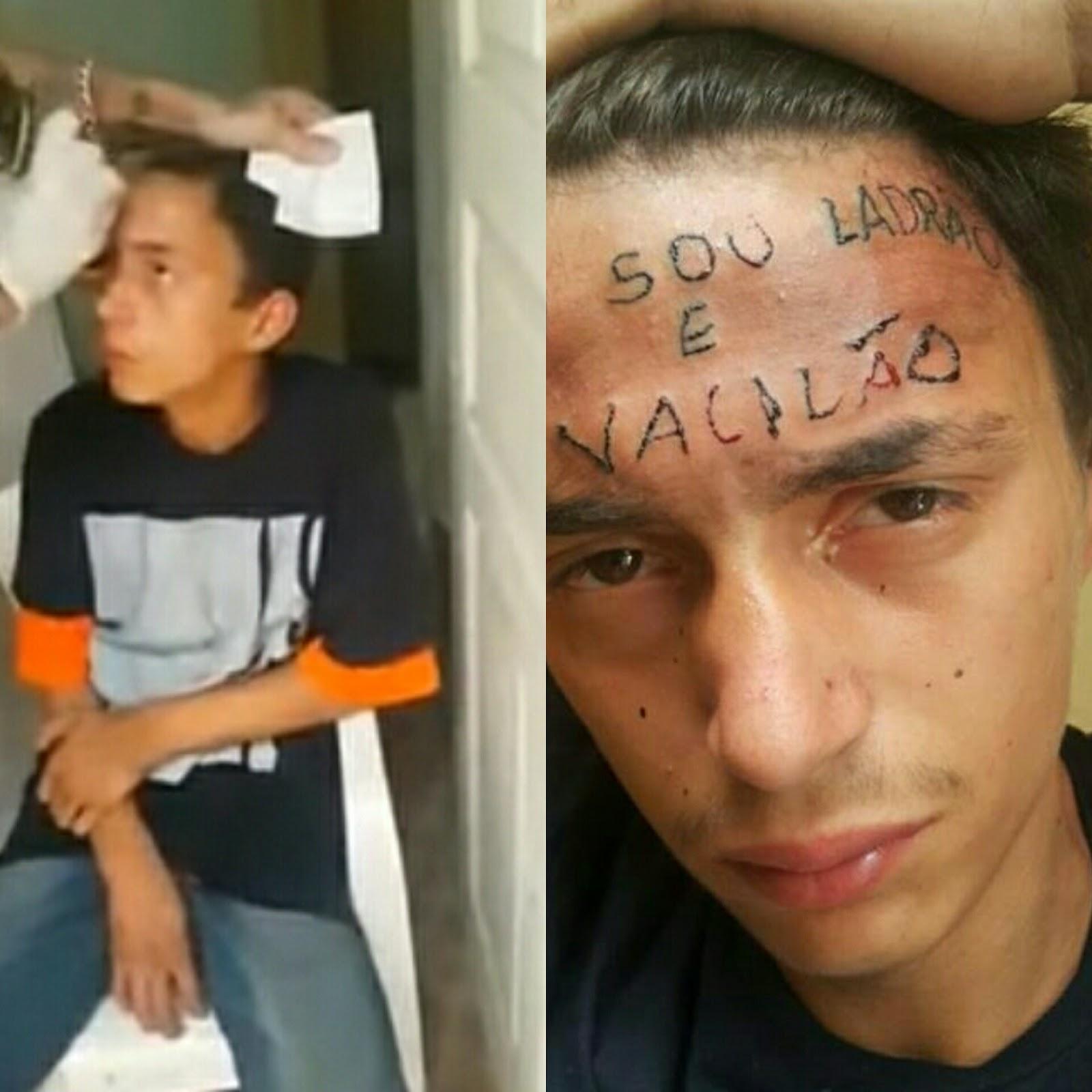 Entró a robar a un local de tatuajes y le hicieron algo que marcó su ...