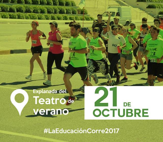 Correcaminata La Educación Corre (Teatro de Verano, 21/oct/2017)