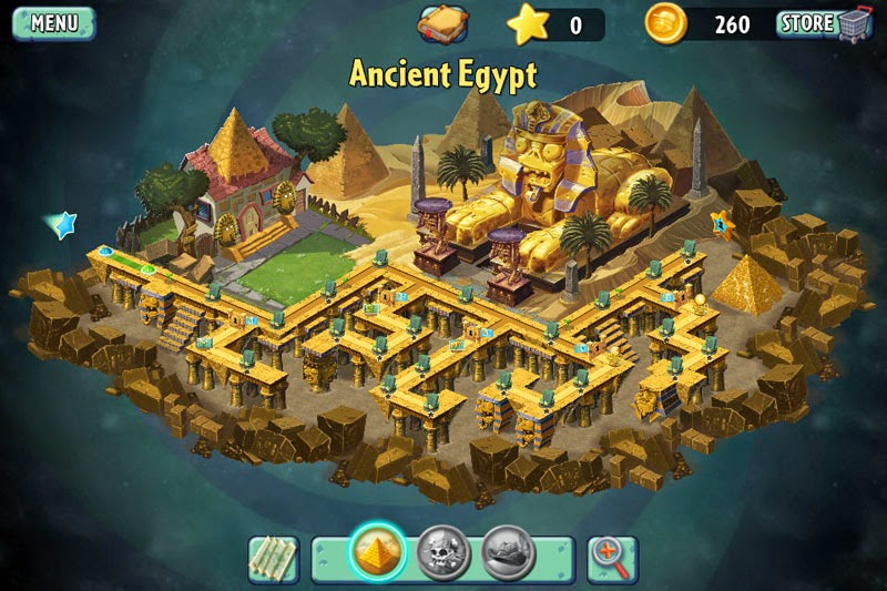 Plants Vs Zombies 2, el antiguo egipto
