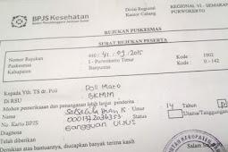 Syarat  meminta surat rujukan bpjs dari puskesmas ke rumah sakit