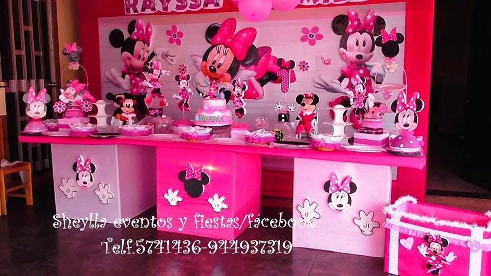Decoración Tortas Fiestas Infantiles Minnie Frozen Sofia Mickey Descendientes Decoración De Fiesta Infantil Temática Minnie Mouse Coqueta Toldos Castillo Túnel Con Orejas