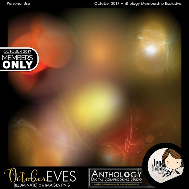 "Oct 2017 Anthology Collection: ""OCTOBER EVES"" by Jen Maddocks Designs"